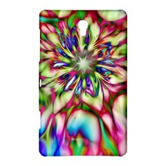 Magic Fractal Flower Multicolored Samsung Galaxy Tab S (8.4 ) Hardshell Case