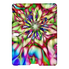 Magic Fractal Flower Multicolored Samsung Galaxy Tab S (10.5 ) Hardshell Case