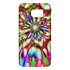 Magic Fractal Flower Multicolored Galaxy S6