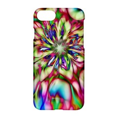 Magic Fractal Flower Multicolored Apple Iphone 7 Hardshell Case