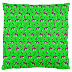 Floral pattern Large Cushion Case (One Side)