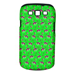 Floral pattern Samsung Galaxy S III Classic Hardshell Case (PC+Silicone)