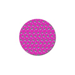 Floral pattern Golf Ball Marker