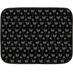 Floral pattern Fleece Blanket (Mini)