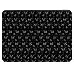 Floral pattern Samsung Galaxy Tab 7  P1000 Flip Case