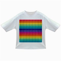 Pattern Grid Squares Texture Infant/toddler T Shirts