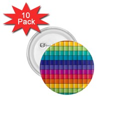 Pattern Grid Squares Texture 1 75  Buttons (10 Pack)