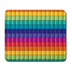 Pattern Grid Squares Texture Large Mousepads