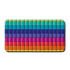 Pattern Grid Squares Texture Medium Bar Mats