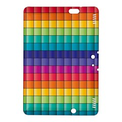 Pattern Grid Squares Texture Kindle Fire HDX 8.9  Hardshell Case