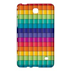 Pattern Grid Squares Texture Samsung Galaxy Tab 4 (8 ) Hardshell Case