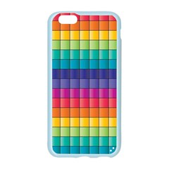 Pattern Grid Squares Texture Apple Seamless iPhone 6/6S Case (Color)