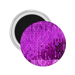 Purple Background Scrapbooking Paper 2 25  Magnets