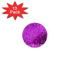 Purple Background Scrapbooking Paper 1  Mini Magnet (10 Pack)