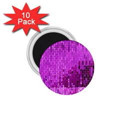Purple Background Scrapbooking Paper 1 75  Magnets (10 Pack)