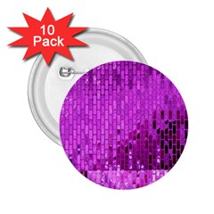 Purple Background Scrapbooking Paper 2.25  Buttons (10 pack)