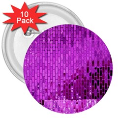 Purple Background Scrapbooking Paper 3  Buttons (10 Pack)