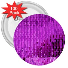 Purple Background Scrapbooking Paper 3  Buttons (100 Pack)