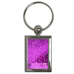 Purple Background Scrapbooking Paper Key Chains (rectangle)