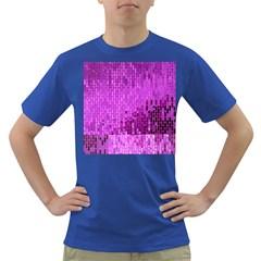 Purple Background Scrapbooking Paper Dark T Shirt