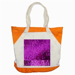 Purple Background Scrapbooking Paper Accent Tote Bag