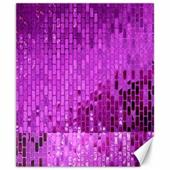 Purple Background Scrapbooking Paper Canvas 8  X 10