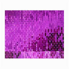 Purple Background Scrapbooking Paper Small Glasses Cloth (2 Side)