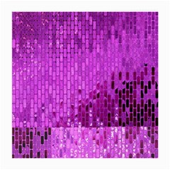 Purple Background Scrapbooking Paper Medium Glasses Cloth (2 Side)