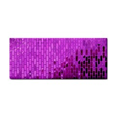 Purple Background Scrapbooking Paper Cosmetic Storage Cases