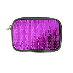 Purple Background Scrapbooking Paper Coin Purse