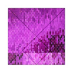 Purple Background Scrapbooking Paper Acrylic Tangram Puzzle (6  X 6 )