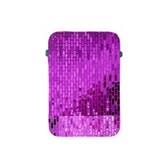 Purple Background Scrapbooking Paper Apple Ipad Mini Protective Soft Cases