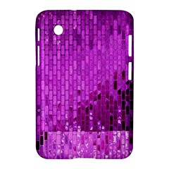 Purple Background Scrapbooking Paper Samsung Galaxy Tab 2 (7 ) P3100 Hardshell Case