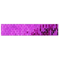 Purple Background Scrapbooking Paper Flano Scarf (small)