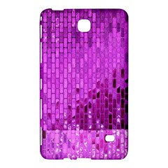 Purple Background Scrapbooking Paper Samsung Galaxy Tab 4 (8 ) Hardshell Case