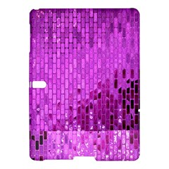 Purple Background Scrapbooking Paper Samsung Galaxy Tab S (10 5 ) Hardshell Case
