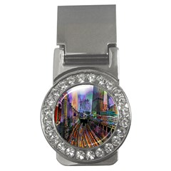 Downtown Chicago Money Clips (cz)