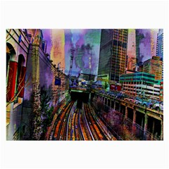 Downtown Chicago Large Glasses Cloth (2-Side)