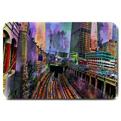 Downtown Chicago Large Doormat
