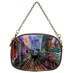 Downtown Chicago Chain Purses (two Sides)