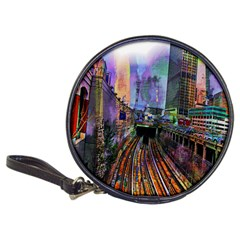 Downtown Chicago Classic 20 Cd Wallets