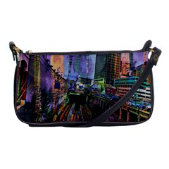 Downtown Chicago Shoulder Clutch Bags