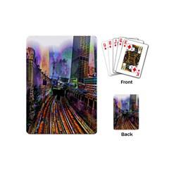 Downtown Chicago Playing Cards (mini)