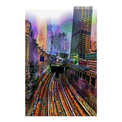 Downtown Chicago Shower Curtain 48  x 72  (Small)