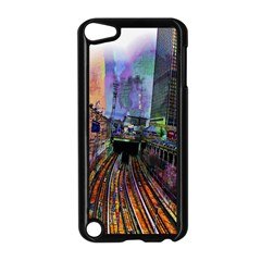 Downtown Chicago Apple Ipod Touch 5 Case (black)