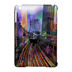 Downtown Chicago Apple Ipad Mini Hardshell Case (compatible With Smart Cover)