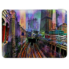 Downtown Chicago Samsung Galaxy Tab 7  P1000 Flip Case