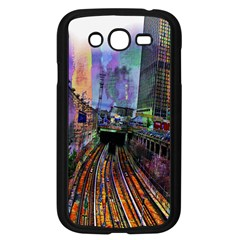 Downtown Chicago Samsung Galaxy Grand Duos I9082 Case (black)