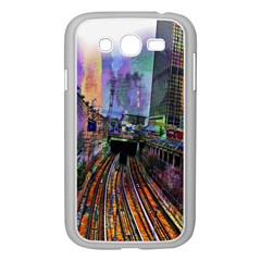 Downtown Chicago Samsung Galaxy Grand Duos I9082 Case (white)