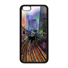 Downtown Chicago Apple iPhone 5C Seamless Case (Black)